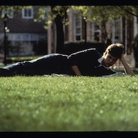 1980s photo 37 - Candid-StudentonGrass.jpg
