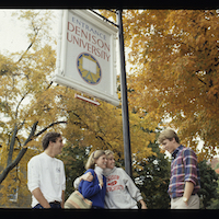1980s photo 21 - Candid-Students-DenisonSign.jpg