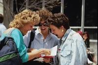 1980s photo 34 - Candid-StudentsReadingMail.jpg