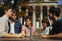 1980s photo 28 - Candid-SwaseySundial-Students2.jpg